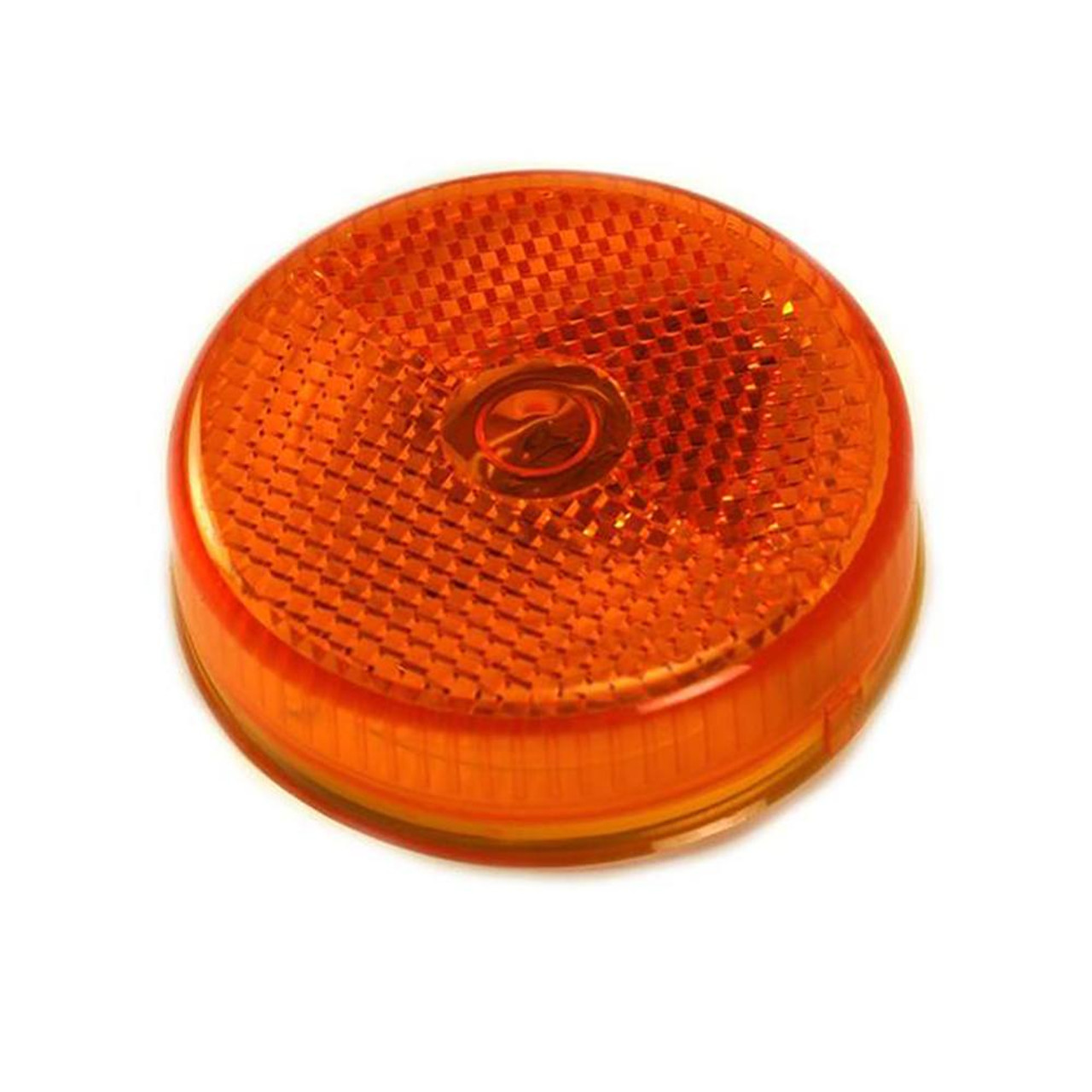 """2 1/2"""" Round Amber Clearance Trailer Lights"""