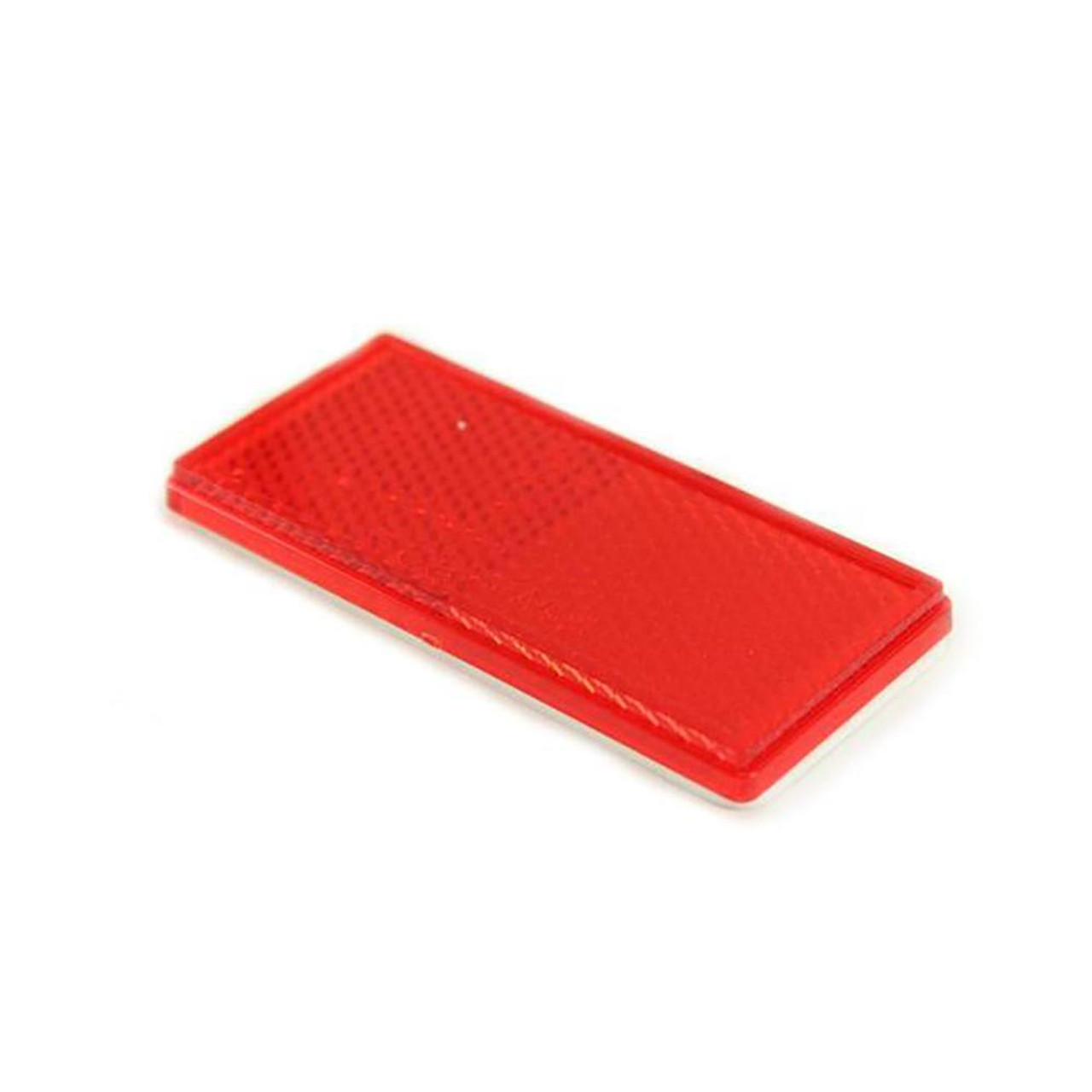 Red Stick-on Trailer Reflector