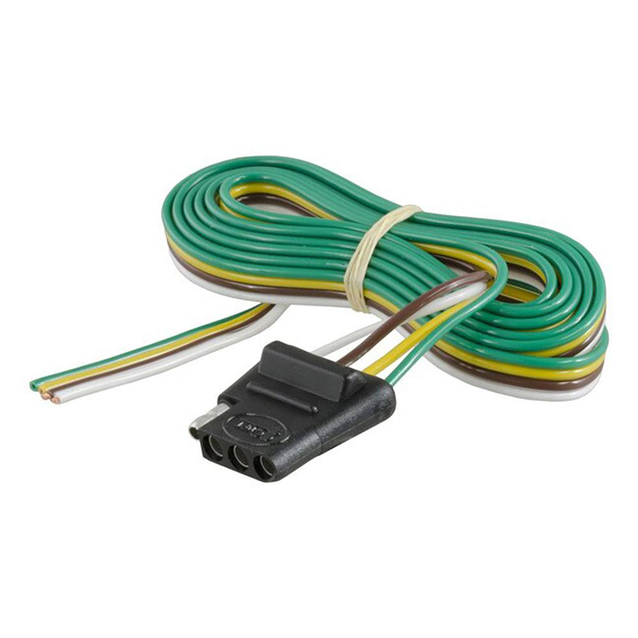 4-Way Flat Wiring Connector - 60 Inch Vehicle Side