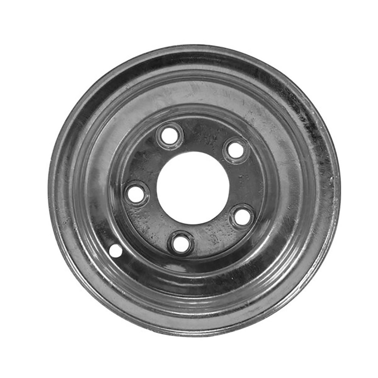 "8X7 5-Lug on 4.5"" Galvanized Trailer Wheel"