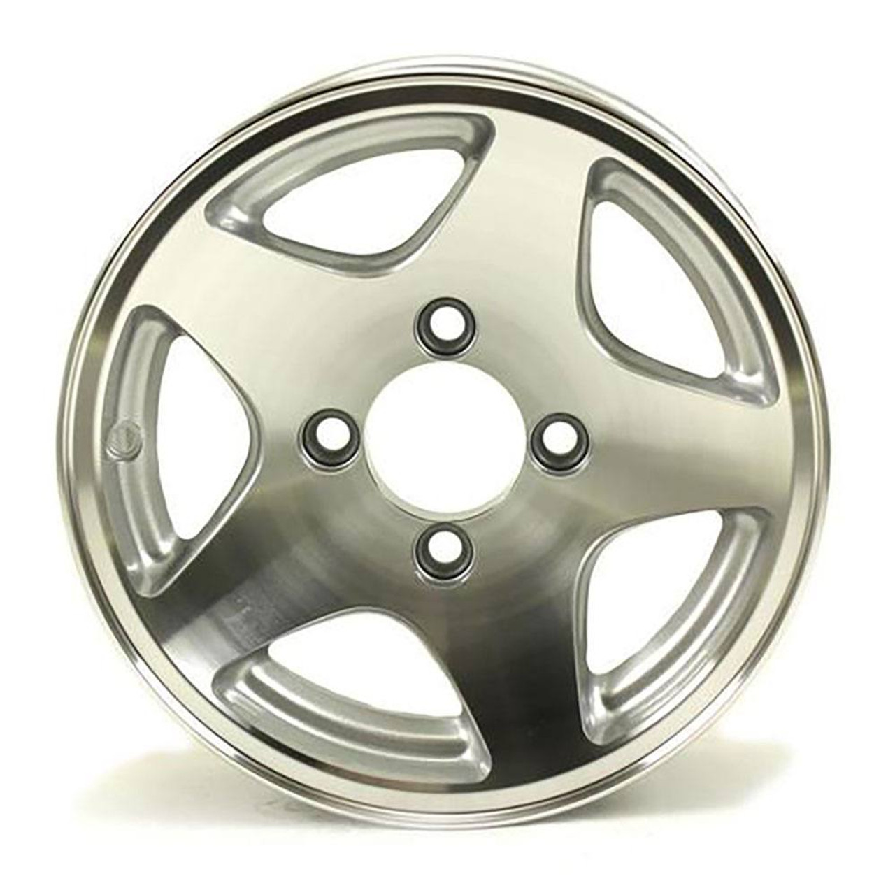 "12X4 4-Lug on 4"" Aluminum Series 04 Trailer Wheel - 424440"
