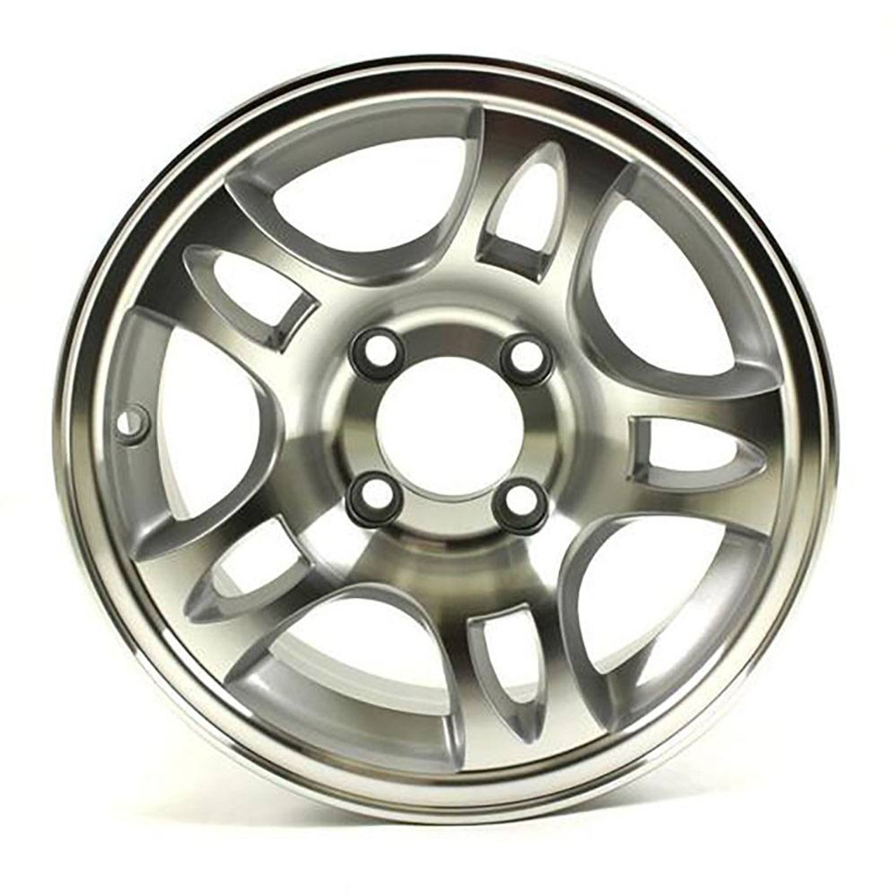 "13X5 4-Lug on 4"" Aluminum S5 Trailer Wheel - S535440"