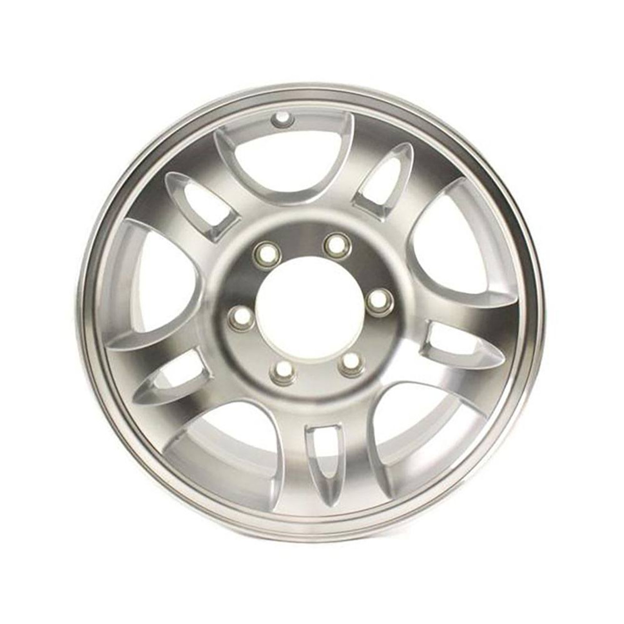 "16X6 6-Lug on 5.5"" Aluminum T03 Trailer Wheel - T03-66655T"