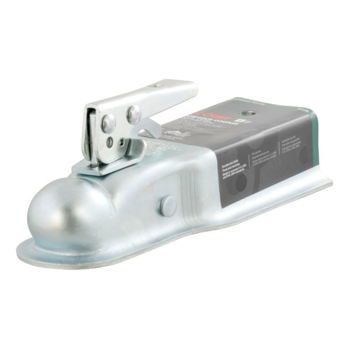 Class II- Posi-Lock Coupler- Zinc Finish- 3500lbs. Gross Trailer Weight- 500lbs. Tongue Weight- 2 in. Ball- 3 in. Channel-