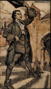 Gulliver's Travels, Illustrated by Arthur Rackham, Signed Bayntun Binding