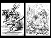 Alice in Wonderland & Through the Looking Glass, Signed by the Original Alice