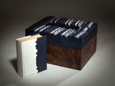 Moby Dick by Herman Melville, Unique Binding/Sculpture by Richard Tuttle