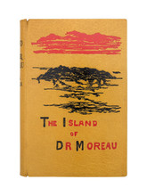 The Island of Dr. Moreau by H.G. Wells, 1896, 1st Edition, Chelsea Bindery