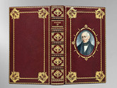 """Poems of Wordsworth, 1879, Signed Asprey London """"Cosway Style"""" Binding"""
