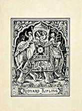 Rudyard Kipling Poems 1886 – 1929, Signed Presentation Copy, Inlaid Leather Bindings