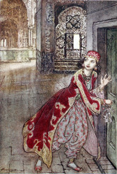 The Arthur Rackham Fairy Book, 1933, First Edition, Full Leather Custom Binding