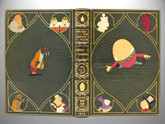 Through the Looking-Glass by Lewis Carroll, 1872, Inlaid Kelliegram Binding