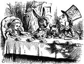 Alice's Adventures in Wonderland by Lewis Carroll, 1866, Unique Trevor Lloyd Binding