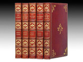 The Christmas Books of Charles Dickens, First Editions, Bayntun-Rivière Bindings