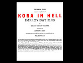 Kora in Hell by William Carlos Williams, Art by Mel Kendrick, Arion Press, 235 of 300