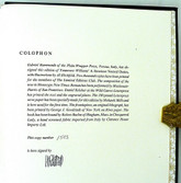 A Streetcar Named Desire, Signed Limited Edition, Binding by Richard Tuttle