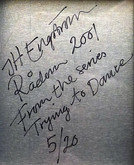 "J.H. Engstrom: Trying to Dance and Signed/Framed Print ""Radon, 2001"""