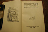 Winnie-The-Pooh Collection, 4 Volumes, 1945, Signed Leather Bindings