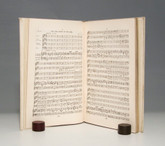 The Messiah by George Frederic Handel, c1890, Hand Painted Vellum Binding