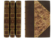The Ingoldsby Legends, 3 Volumes, 1847, Signed Bindings by G.P. Putnam