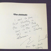 The Animals by Gary Winogrand, First Edition, Ex-Libris- Eric Kroll