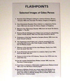 Flashpoints by Gilles Peress, Portfolio of 12 Signed Silver Prints