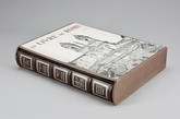 Le Livre de Rome, 1973, Limited Edition, Leather and Copper/Bronze Binding