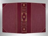 Nicholas Nickleby by Charles Dickens, Signed Custom Harcourt Binding