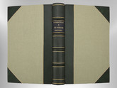 De Rerum Natura by Lucretius, Signed Custom Harcourt Binding