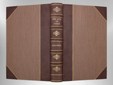 The Age of Fable by Thomas Bulfinch, 1942, Signed Custom Harcourt Binding