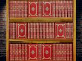 Complete Works of Charles Dickens, 48 Volumes, Full Leather Custom Bindings