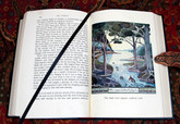 The Hobbit by J.R.R. Tolkien, 1937, First Edition with Tolkien Illustrations