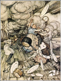 Alice in Wonderland, Illustrated by Arthur Rackham, Unique Binding by Richard Tong