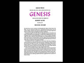 Genesis, Illustrated by Michael Mazur, Arion Press, Signed Limited Edition – 132 of 200
