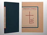 Christian Symbols by Rudolf Koch, Illustrated with 158 Emblems, Arion Press