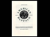 American Buffalo by David Mamet, Art by Michael McCurdy, Arion Press, 347 of 400