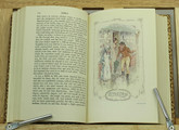 Emma by Jane Austen, Illustrated by C.E. Brock, Custom Sims Binding