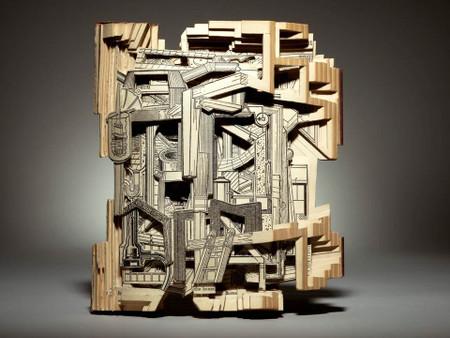 Complete Home Handiman's Guide by Brian Dettmer, Unique Book Sculpture