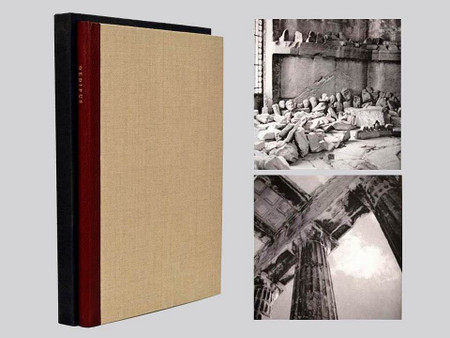 Oedipus by Friedrich Durrenmatt, Photos by Marie Cosindas, Signed LE