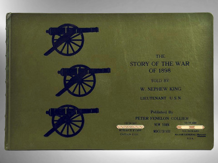 The Story of the War of 1898, First Edition, Full Leather Custom Binding