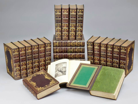 Novels and Other Writings of Leo Tolstoy, 1903, Custom Bindings, 52 of 150