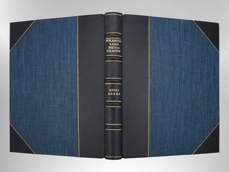 Polaroid Land Photography by Ansel Adams, Signed Custom Harcourt Binding