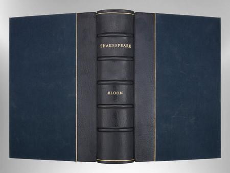 Shakespeare by Harold Bloom, Signed Custom Harcourt Binding