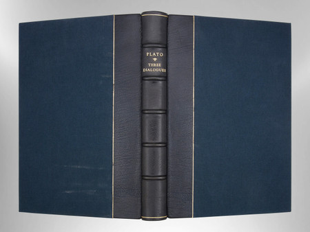Three Dialogues on Love and Friendship by Plato, Signed Harcourt Binding