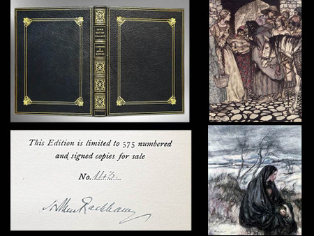 Some British Ballads, Rackham Signed Limited Edition, Bayntun-Riviere Binding