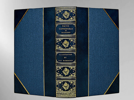 David Copperfield by Charles Dickens, 1921, Custom Sims Binding