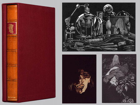 Frankenstein Illustrated by Barry Moser Signed Limited Edition and Portfolio