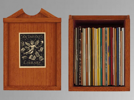 An Infants Library – 31 Volumes, Limited Edition in Wooden Bookcase, 56 of 70