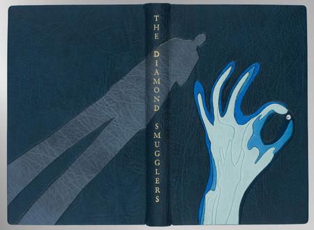 The Diamond Smugglers by Ian Fleming, Signed Sangorski & Sutcliffe Binding