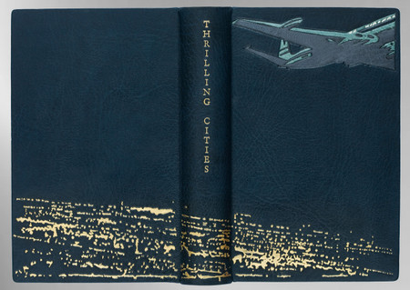 Thrilling Cities by Ian Fleming, Signed Sangorski & Sutcliffe Binding